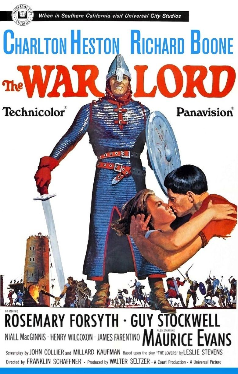 The War Lord movie poster
