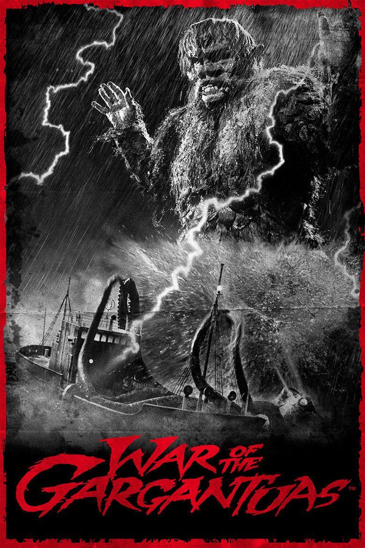 The War of the Gargantuas movie poster