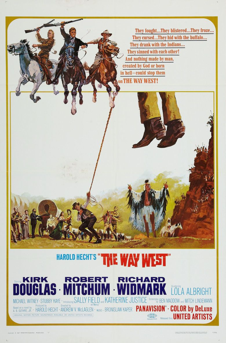 The Way West (film) movie poster