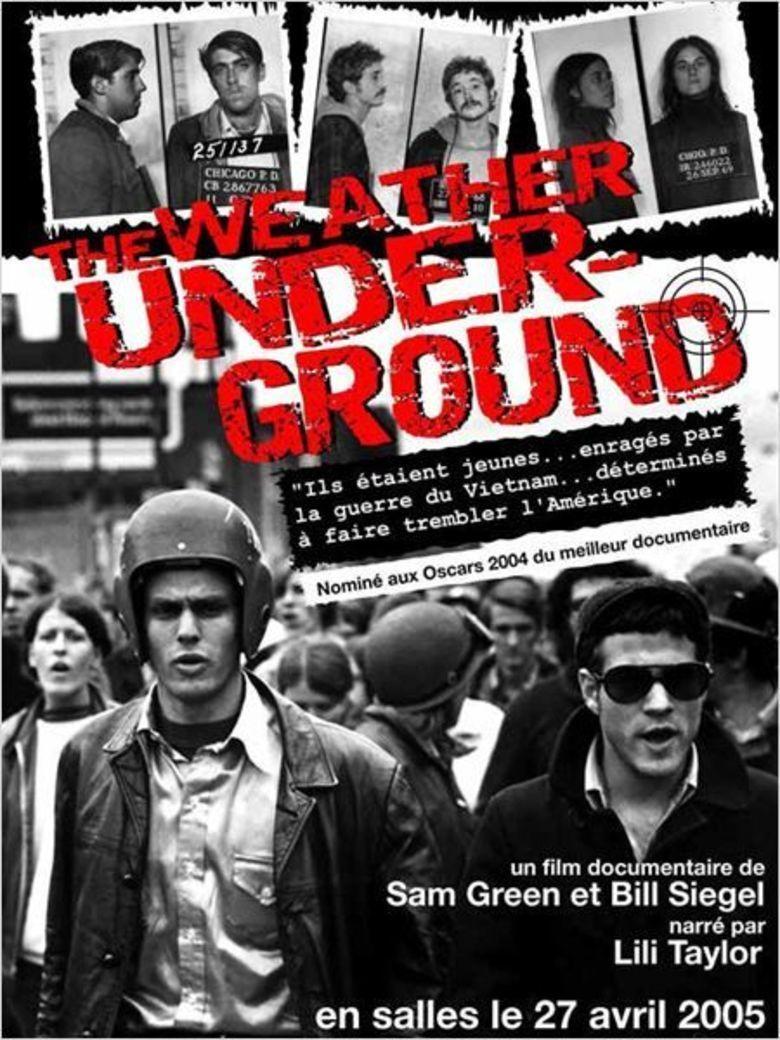 The Weather Underground (film) movie poster
