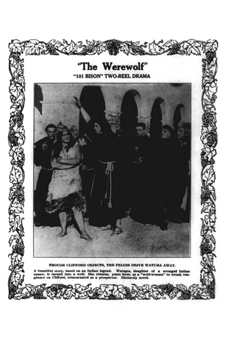 The Werewolf (1913 film) movie poster