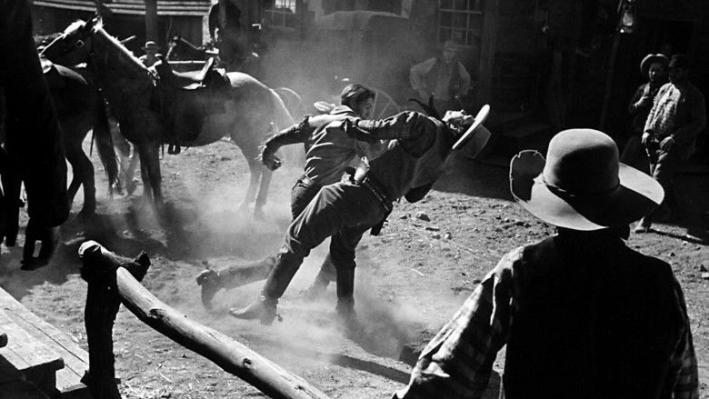 The Westerner (film) movie scenes