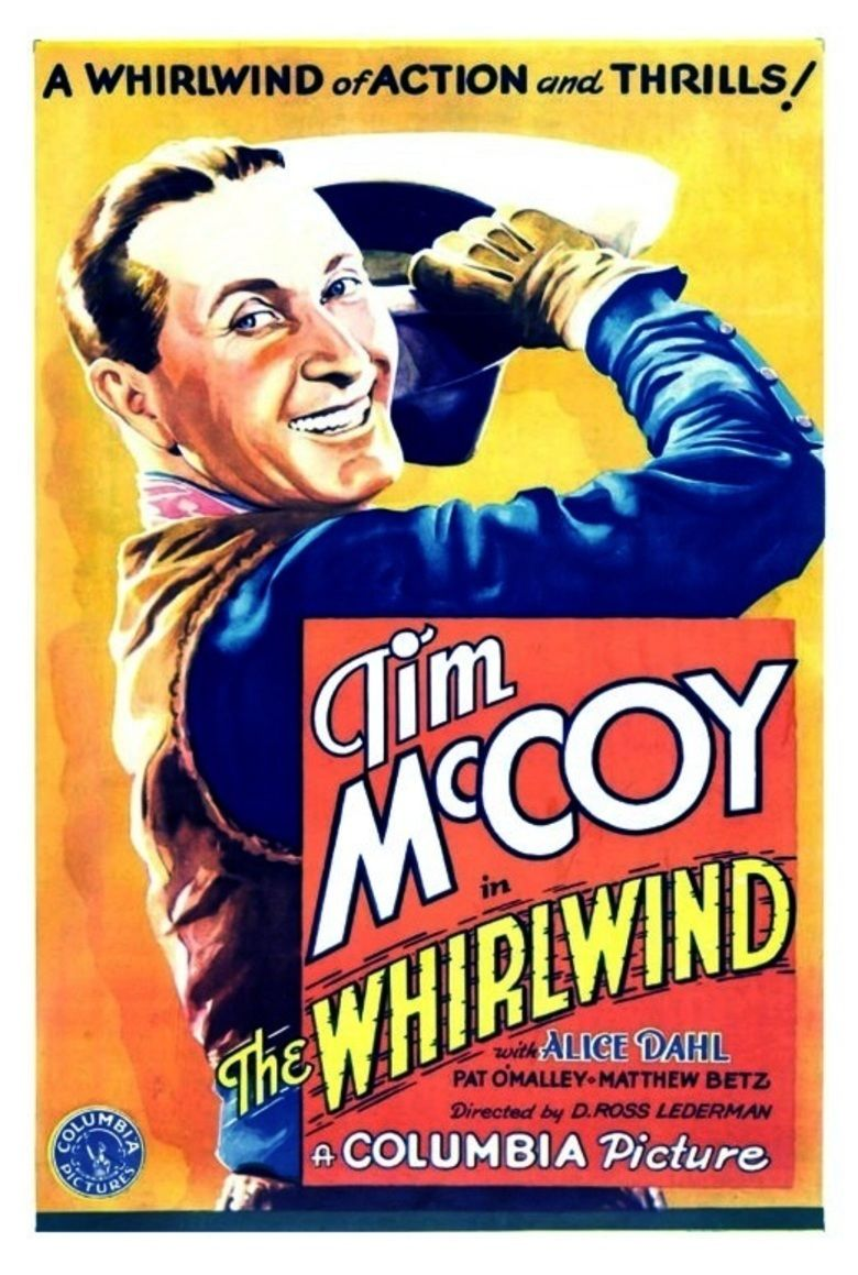 The Whirlwind (1933 film) movie poster