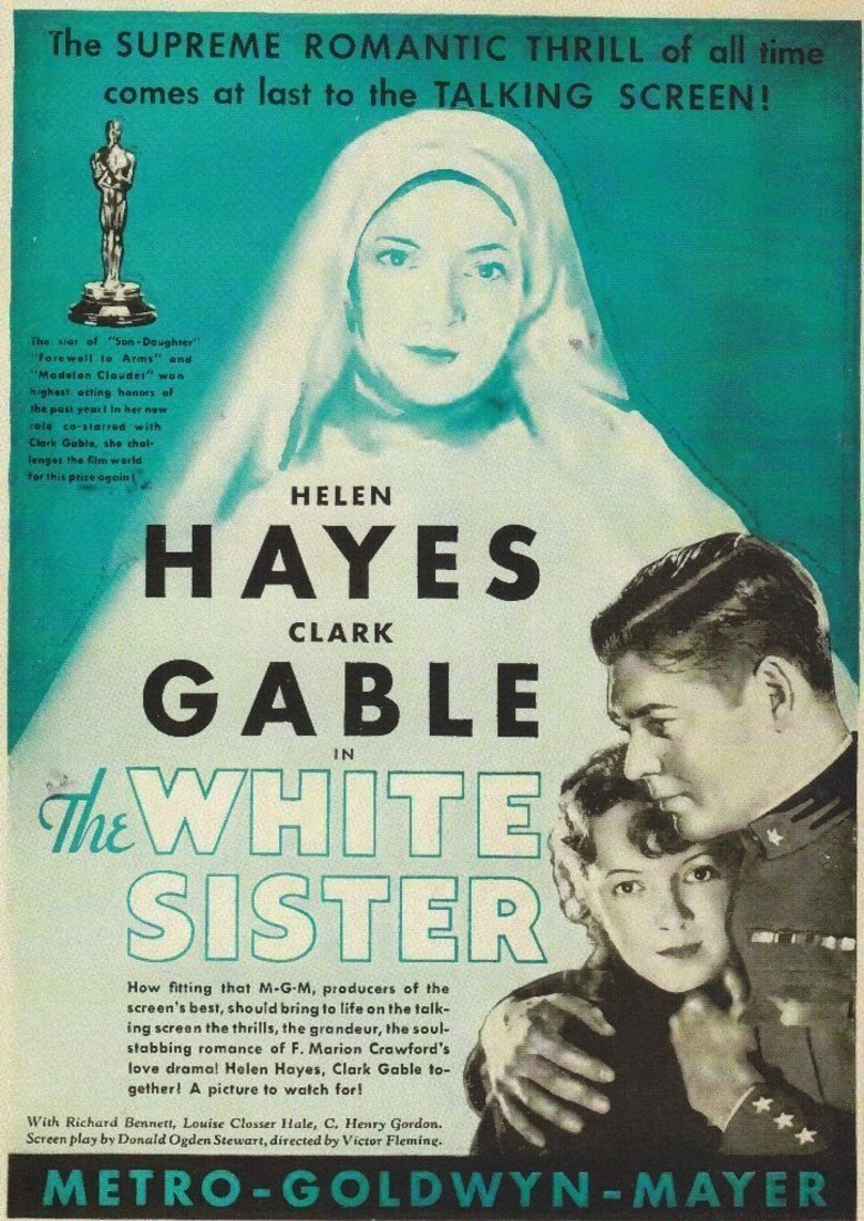 The White Sister (1933 film) movie poster