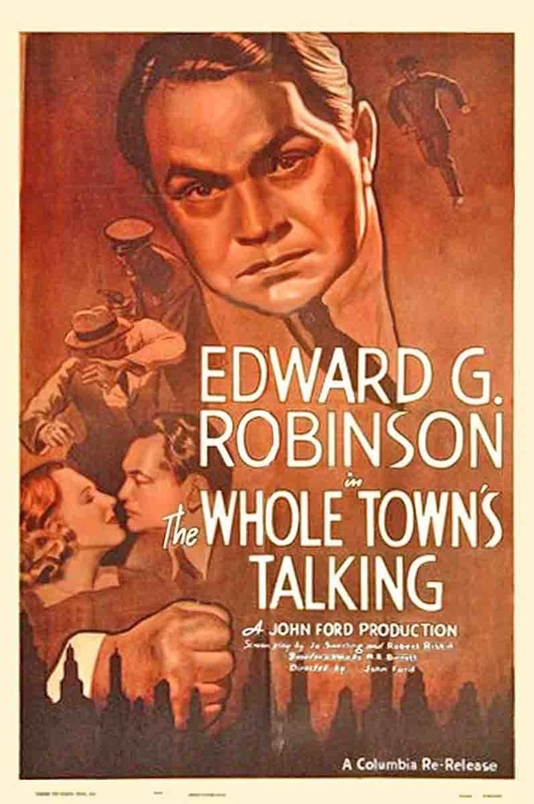 The Whole Towns Talking movie poster