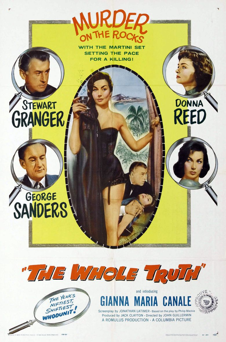 The Whole Truth (1958 film) movie poster