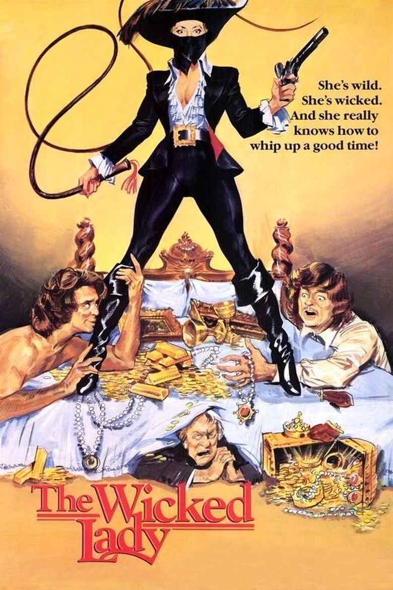 The Wicked Lady (1983 film) movie poster