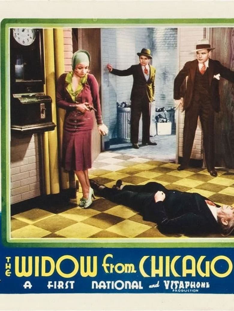 The Widow from Chicago movie poster