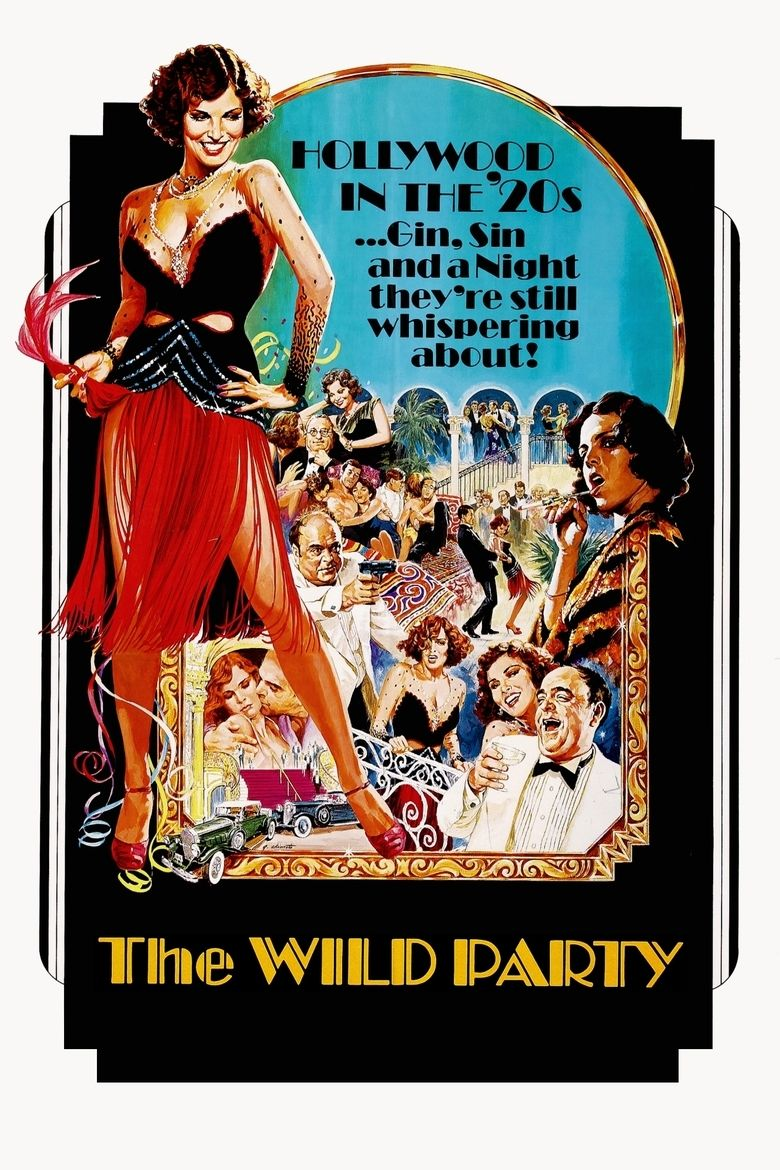 The Wild Party (1975 film) movie poster