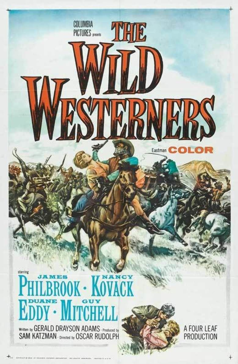 The Wild Westerners movie poster