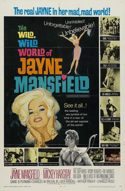 The Wild, Wild World of Jayne Mansfield movie poster