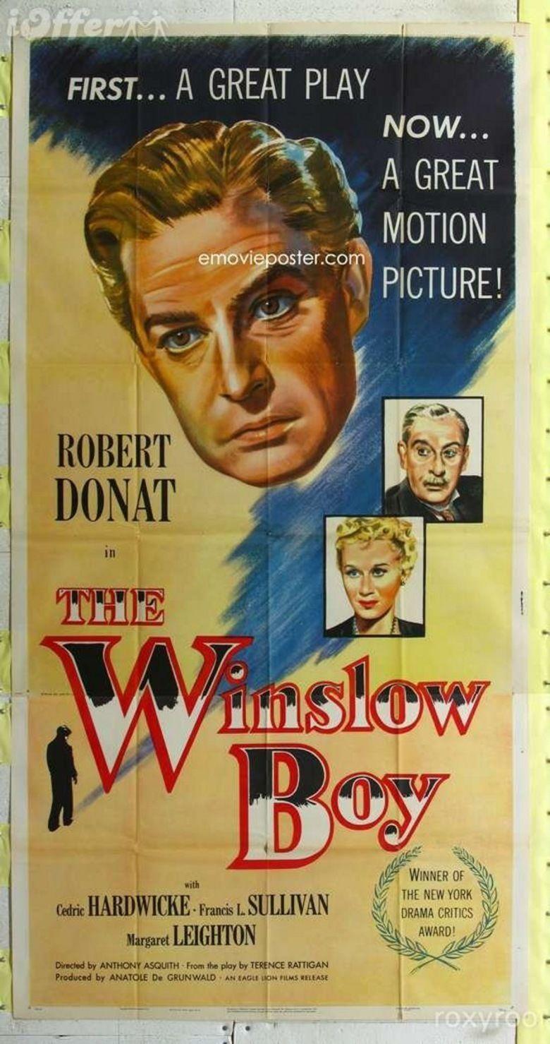The Winslow Boy (1948 film) movie poster