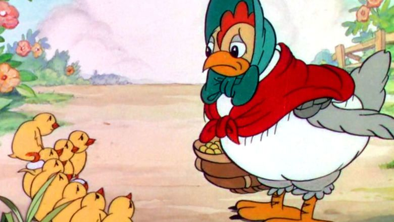The Wise Little Hen movie scenes