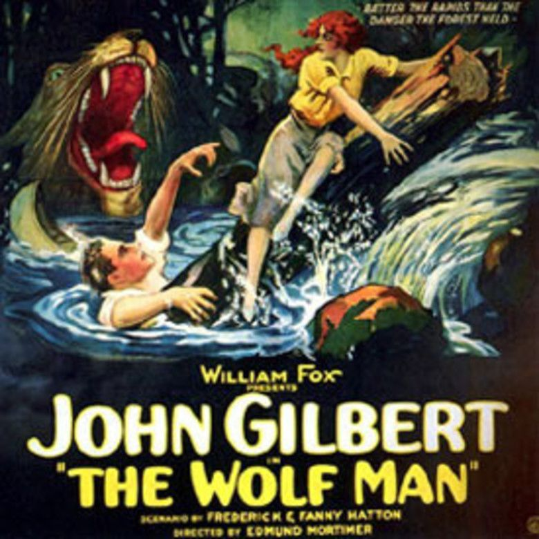 The Wolf Man (1924 film) movie poster