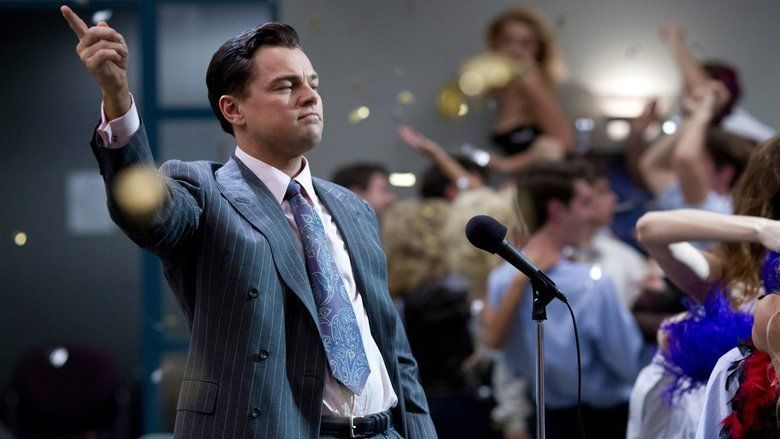 The Wolf of Wall Street (2013 film) movie scenes