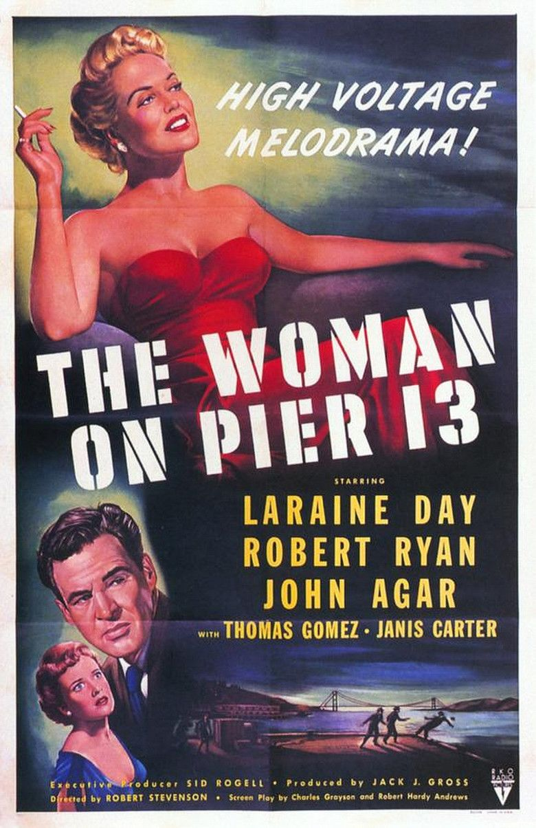 The Woman on Pier 13 movie poster