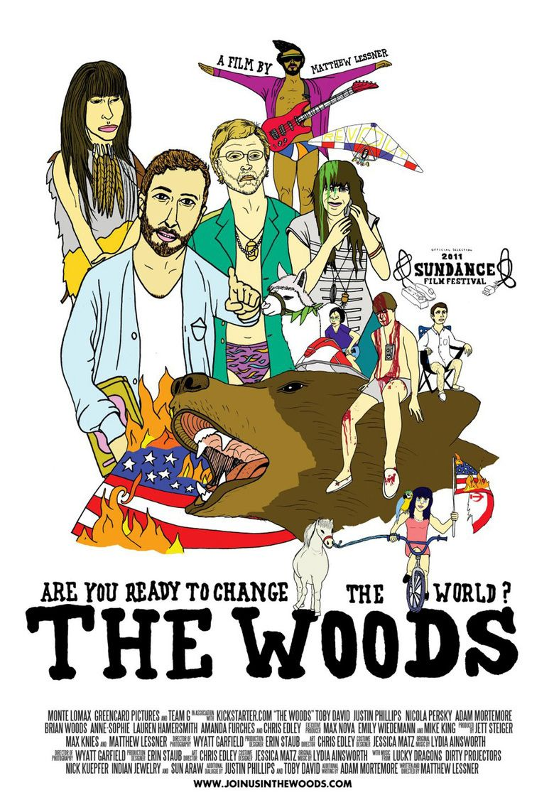 The Woods (2011 film) movie poster