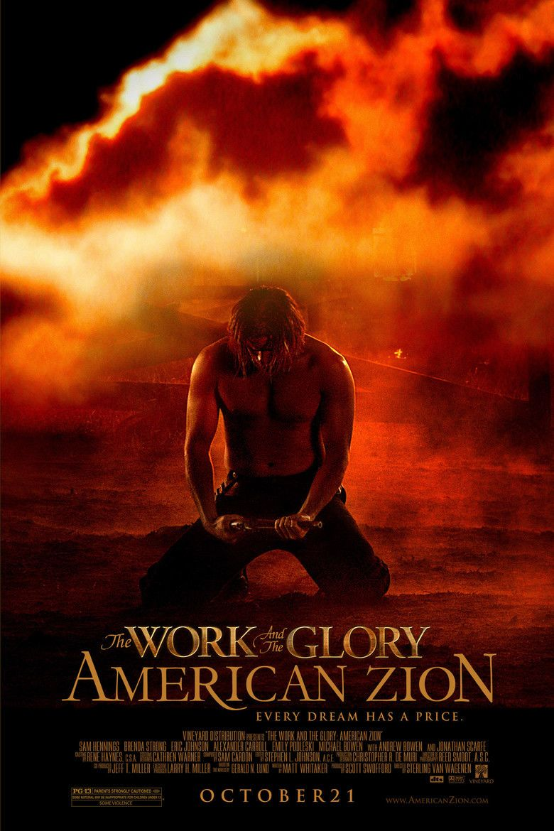 The Work and the Glory: American Zion (film) movie poster