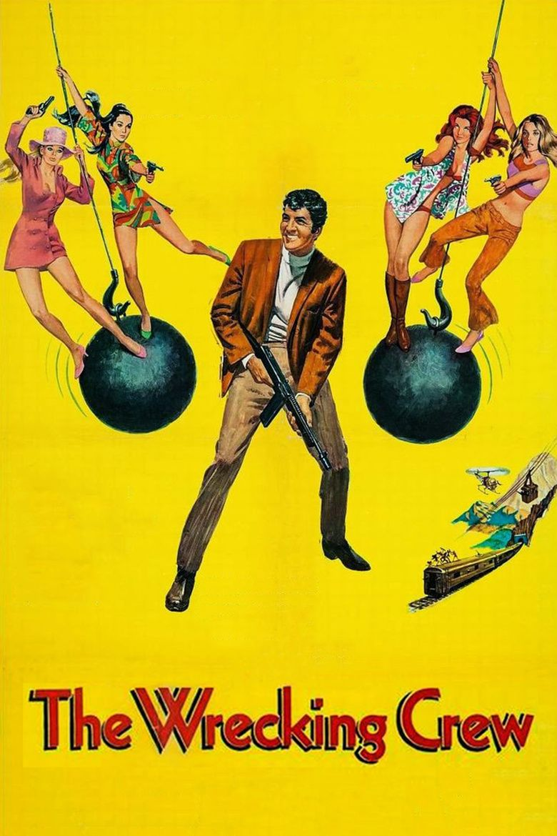The Wrecking Crew (1968 film) movie poster