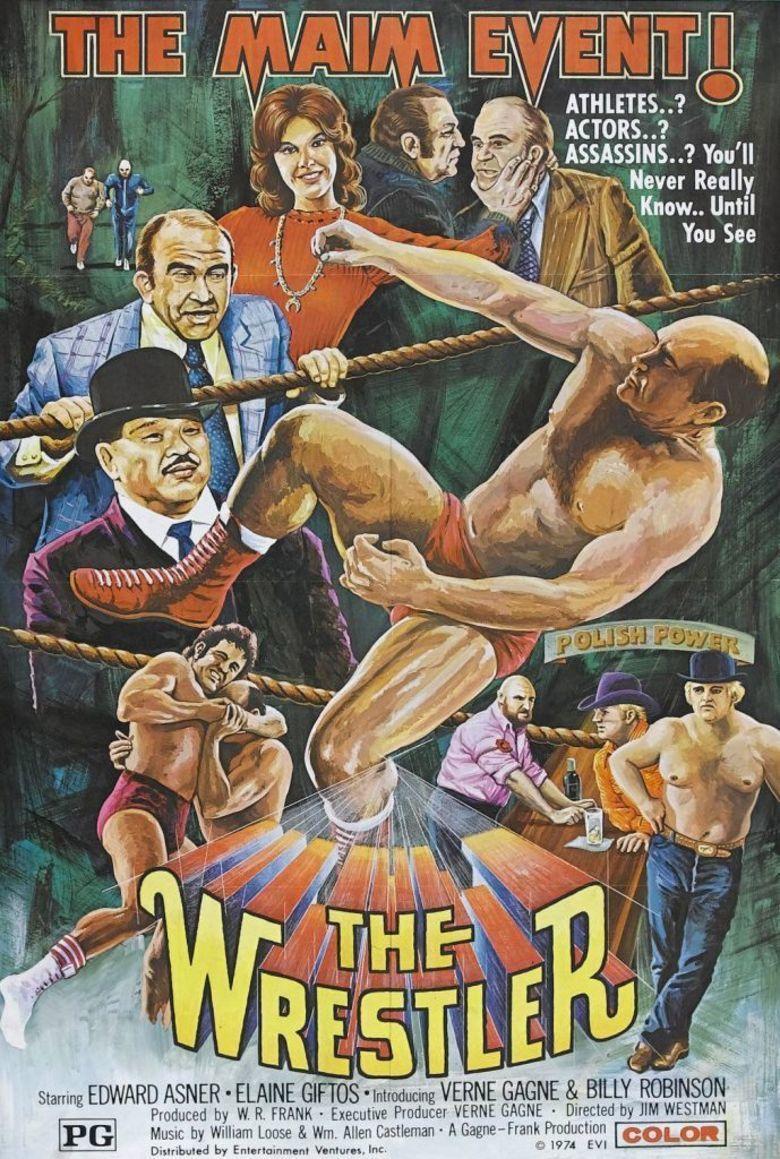 The Wrestler (1974 film) movie poster