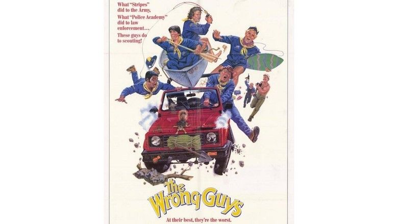 The Wrong Guys movie scenes