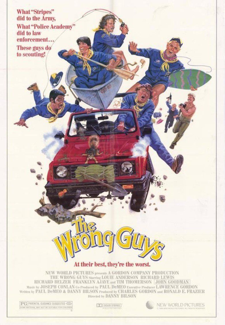 The Wrong Guys movie poster