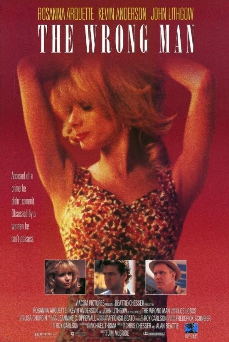 The Wrong Man (1993 film) movie poster