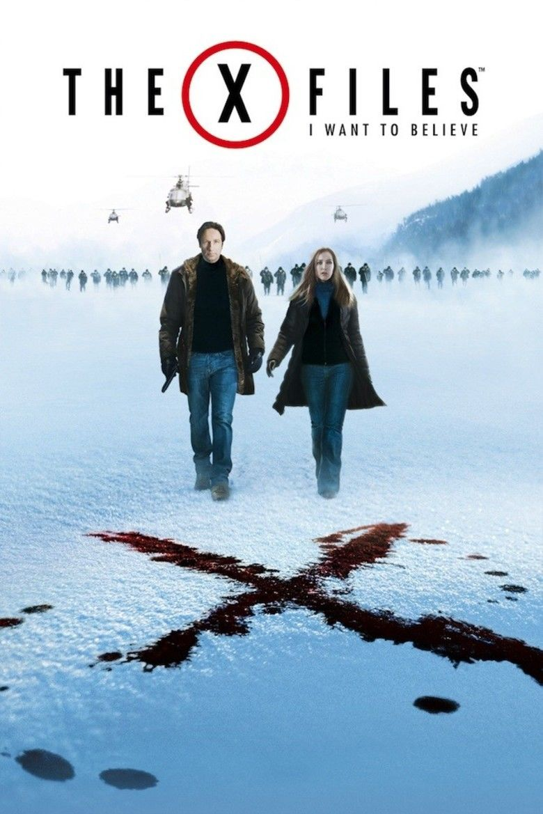 The X Files: I Want to Believe movie poster