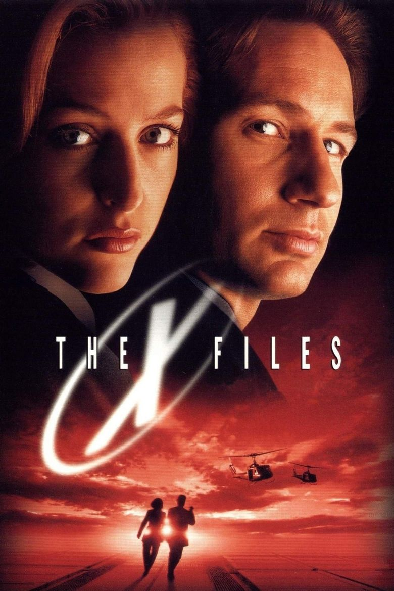 The X Files (film) movie poster