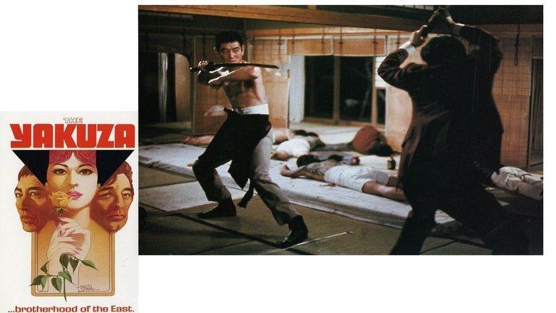The Yakuza movie scenes