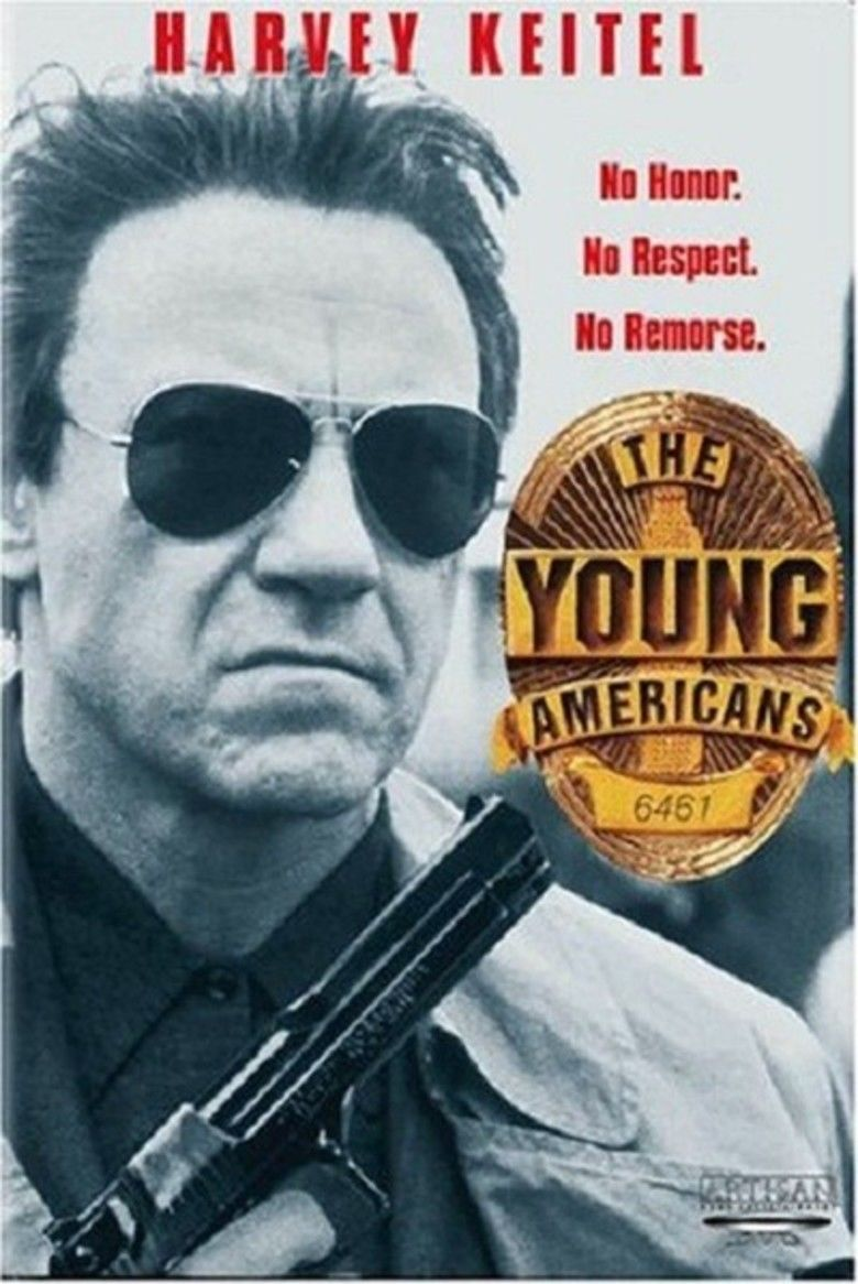 The Young Americans (film) movie poster