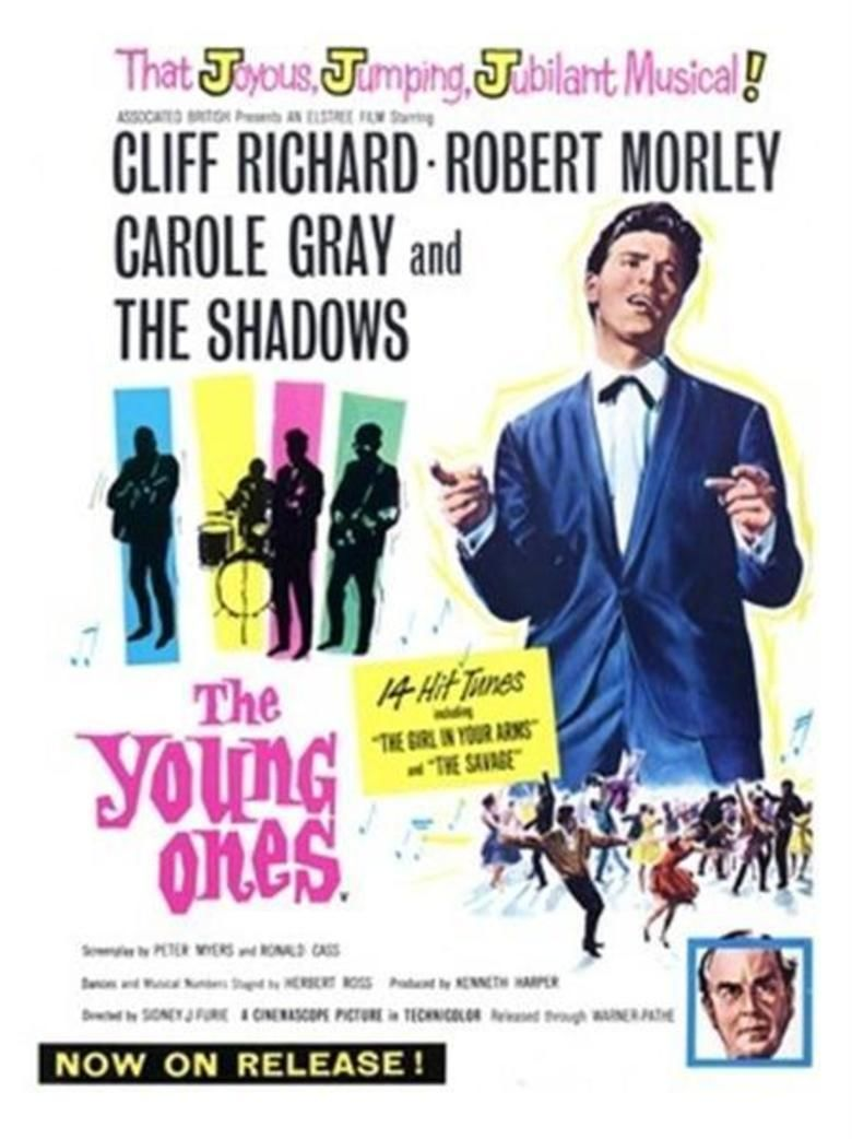 The Young Ones (1961 film) movie poster