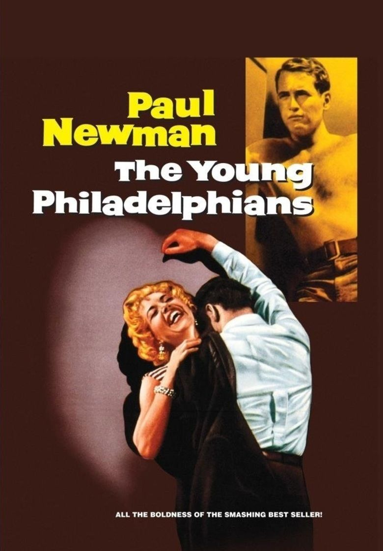 The Young Philadelphians movie poster
