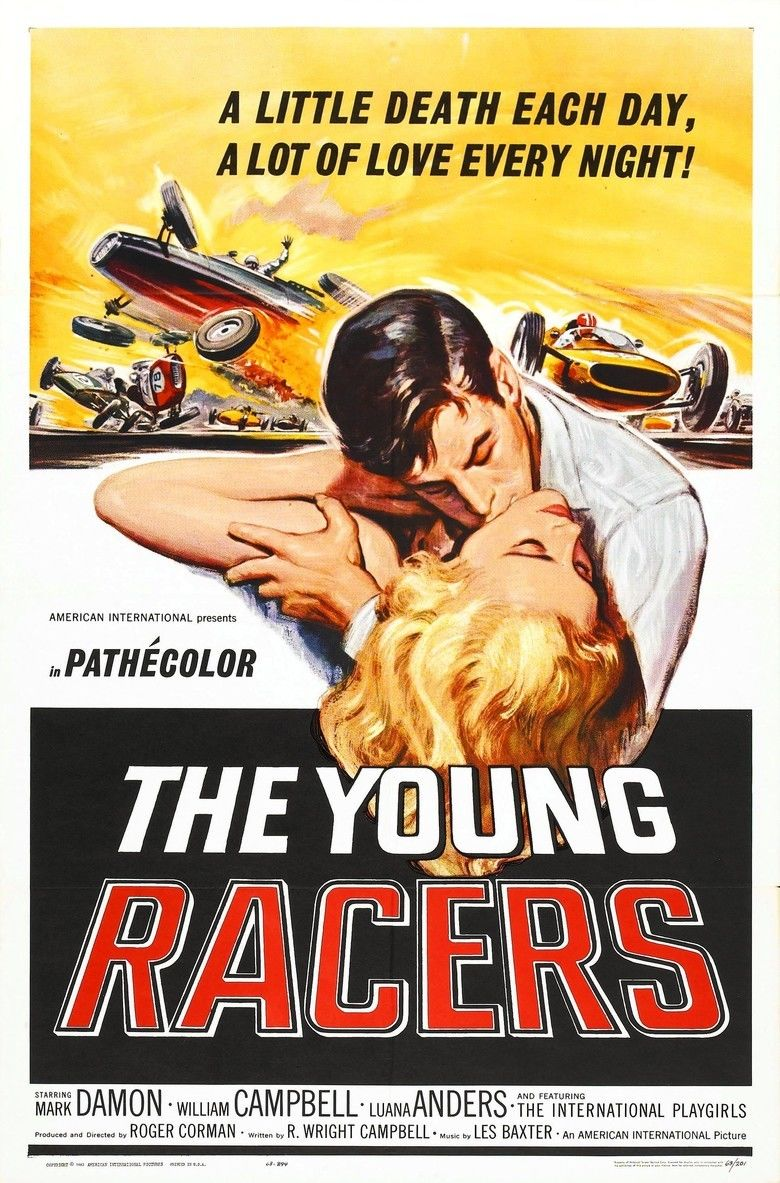 The Young Racers movie poster