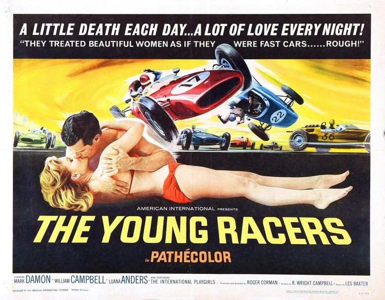 The Young Racers movie scenes