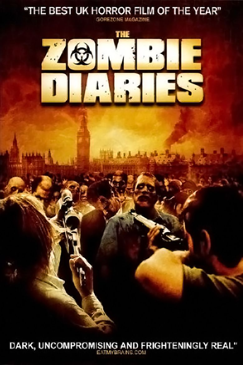 The Zombie Diaries movie poster