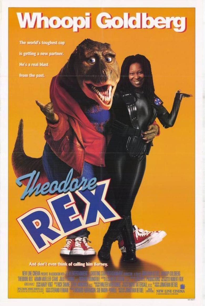 Theodore Rex (film) movie poster