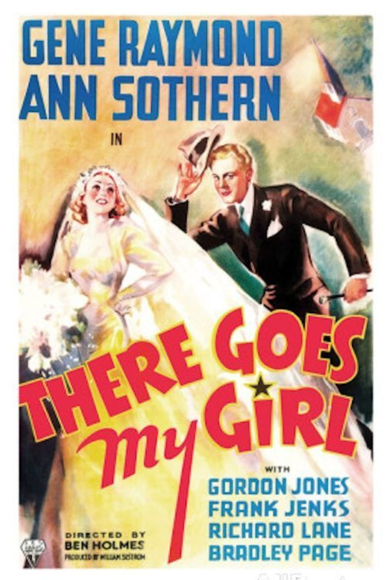 There Goes My Girl movie poster