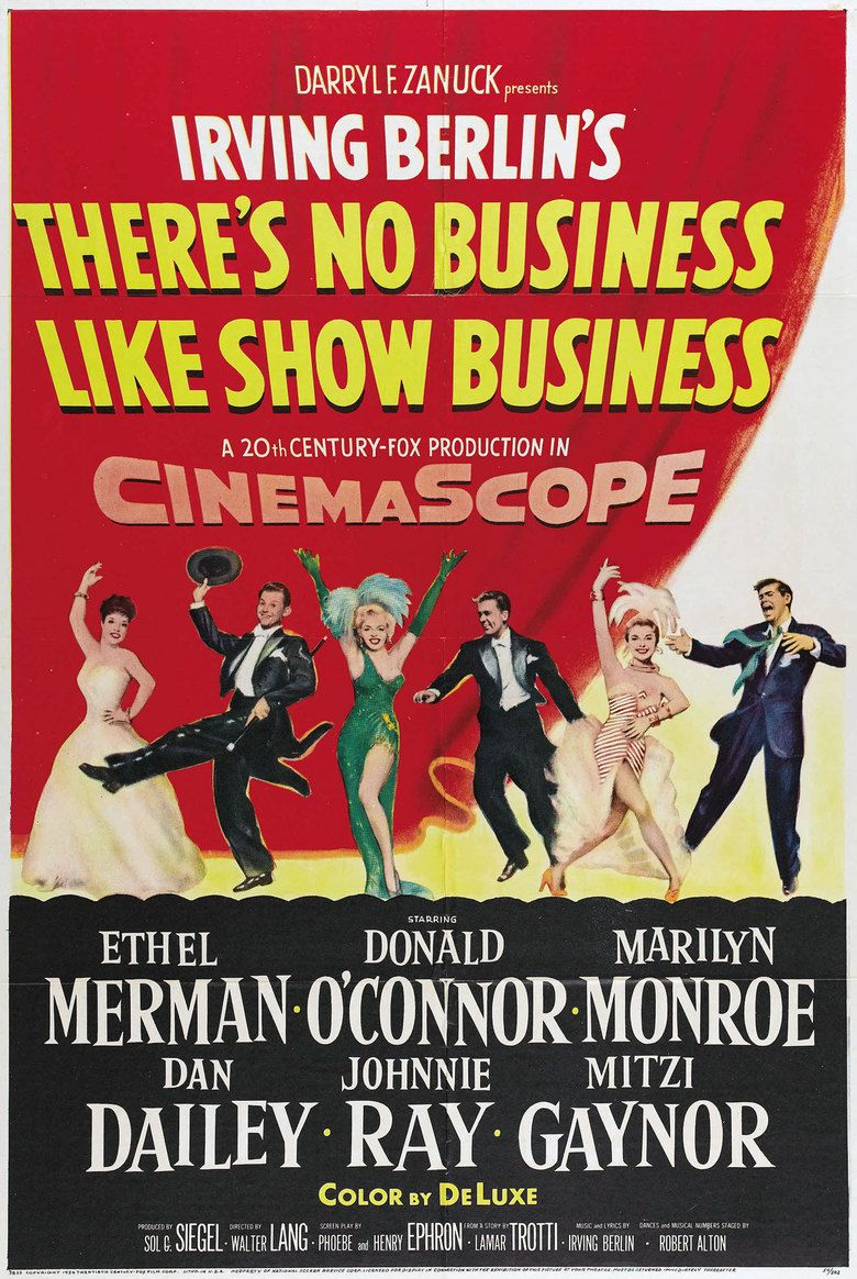 Theres No Business Like Show Business (film) movie poster