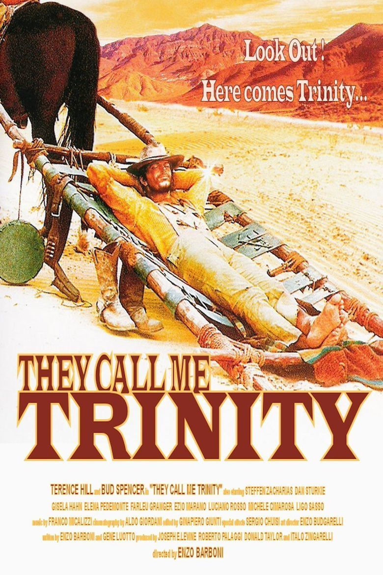 They Call Me Trinity movie poster