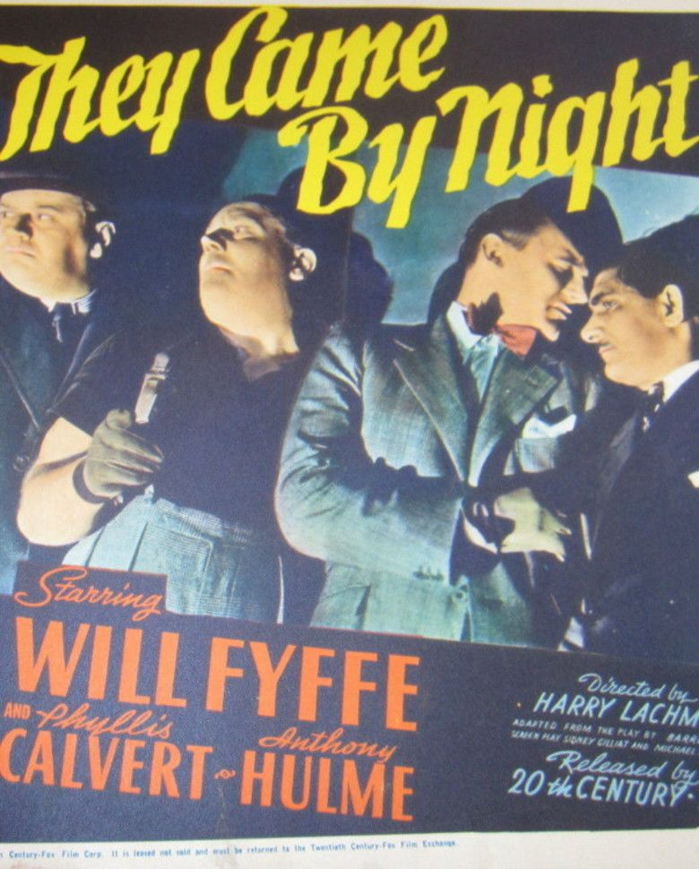 They Came by Night movie poster