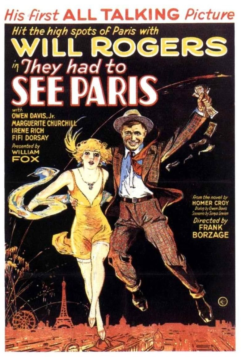 They Had to See Paris movie poster