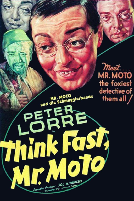 Think Fast, Mr Moto movie poster