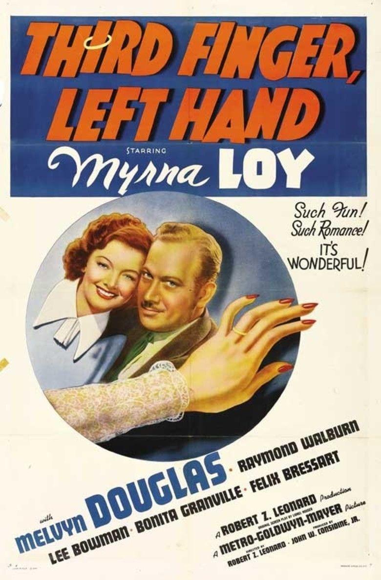Third Finger, Left Hand movie poster