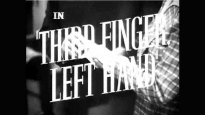 Third Finger, Left Hand movie scenes