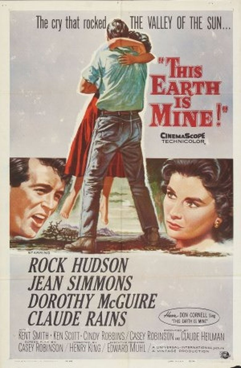 This Earth Is Mine (1959 film) movie poster