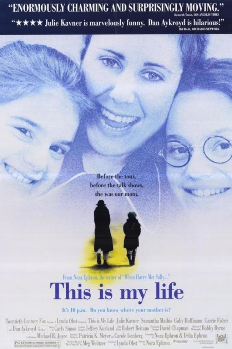 This Is My Life (1992 film) movie poster