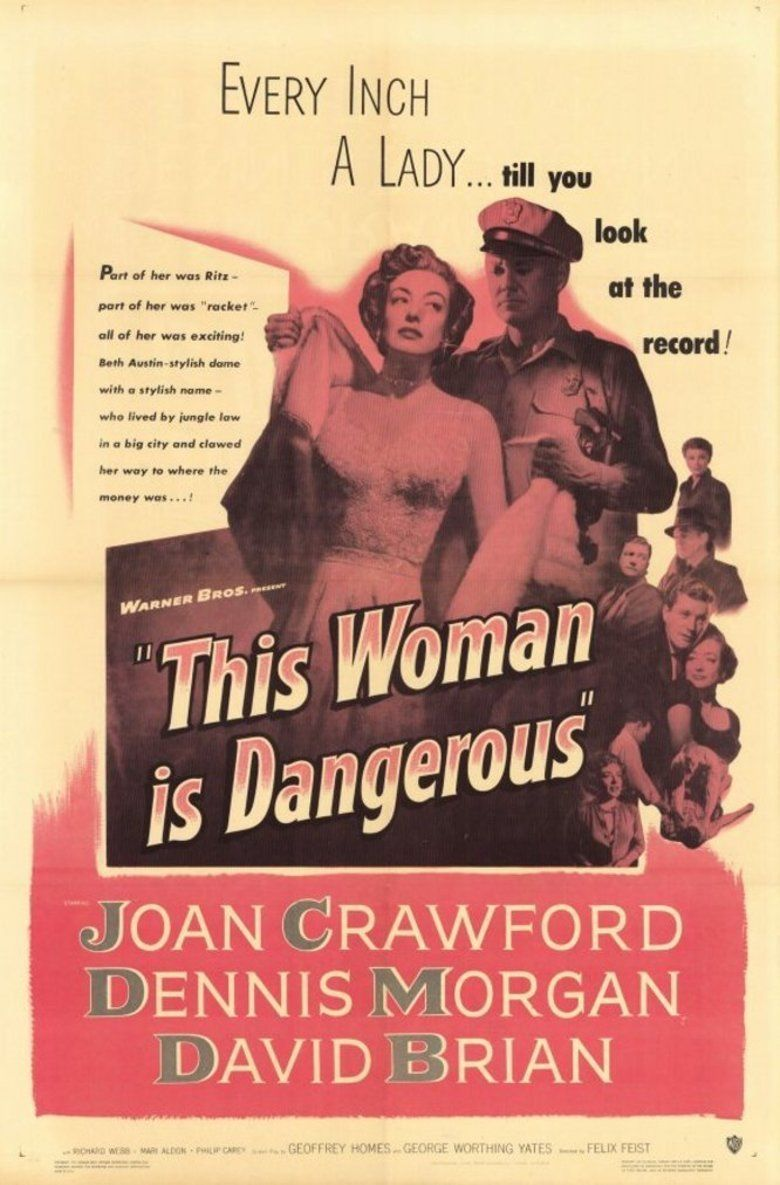 This Woman Is Dangerous movie poster