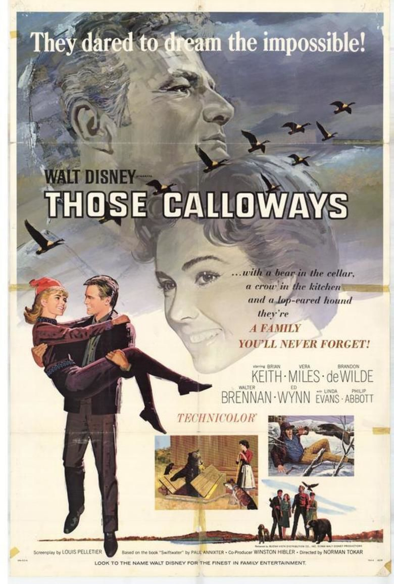 Those Calloways movie poster