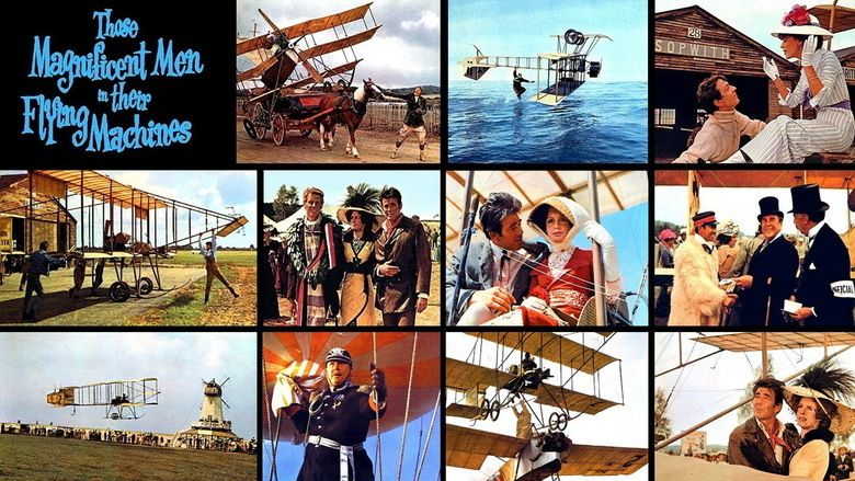 Those Magnificent Men in their Flying Machines movie scenes